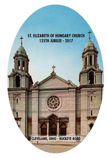 Invitation to the 125th anniversary of the founding of St. Elizabeth of Hungary Parish
