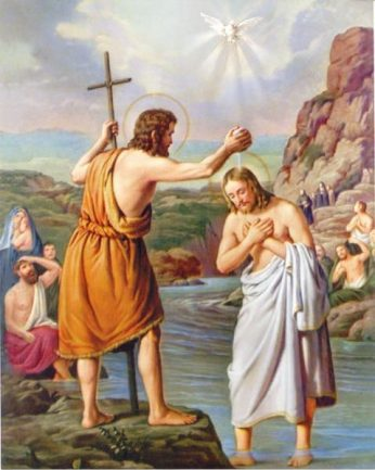 THE BAPTISM OF THE LORD – JANUARY 12, 2020