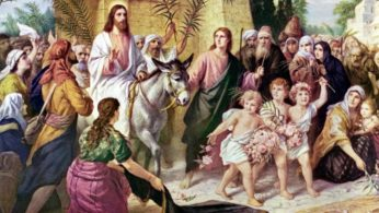 PALM SUNDAY OF THE PASSION OF THE LORD – APRIL 5, 2020