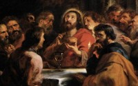 Last Supper by Pieter Rubens courtesy of Web Art Gallery