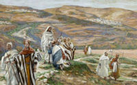 Christ sending out the seventy-two disciples