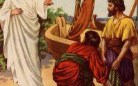 Jesus calling Peter