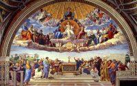 dispute on eucharist